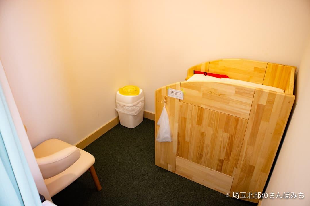 行田ヴェールカフェ授乳室