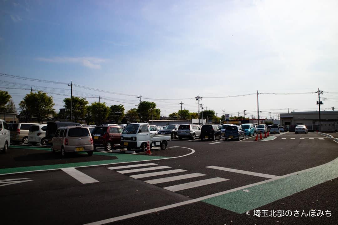 行田水城公園駐車場