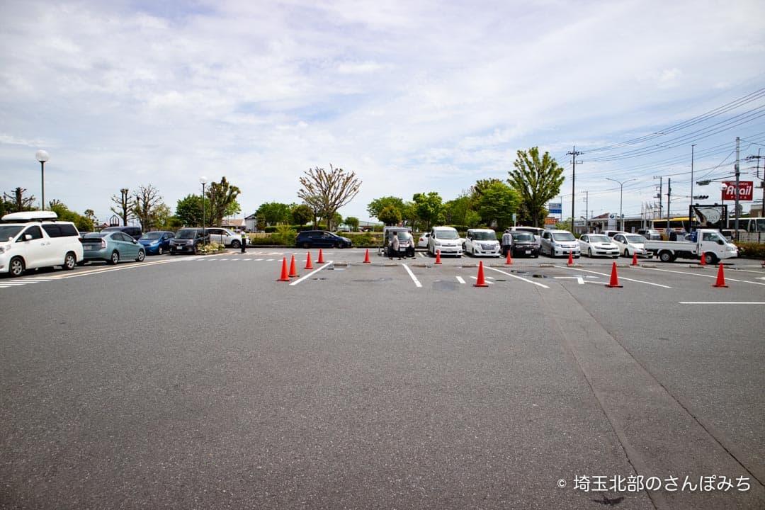 花園蕎麦駐車場