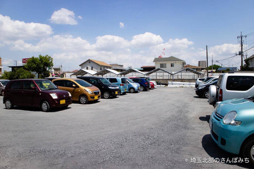 深谷シネマ駐車場