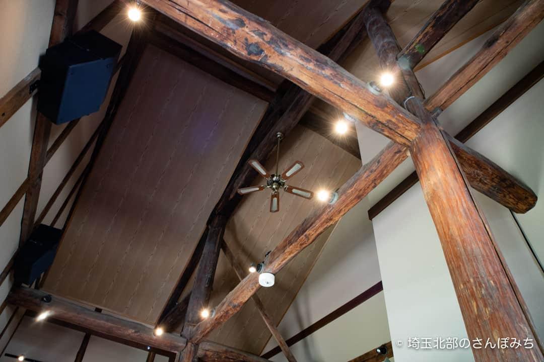 深谷シネマの天井