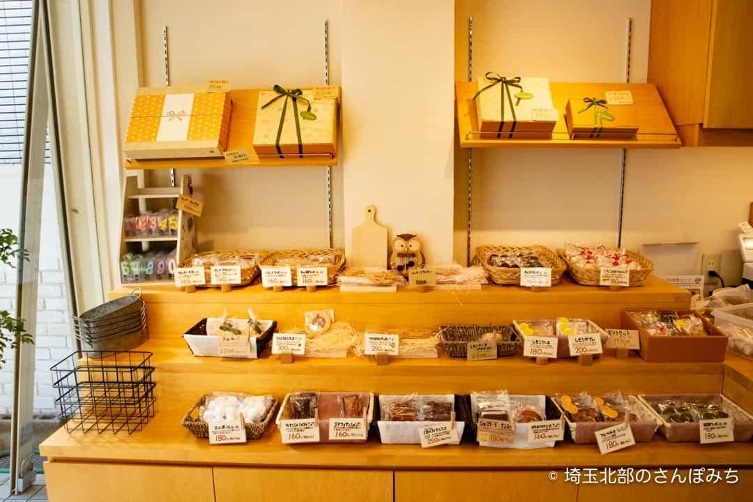 鴻巣ケーキ屋ククの焼き菓子