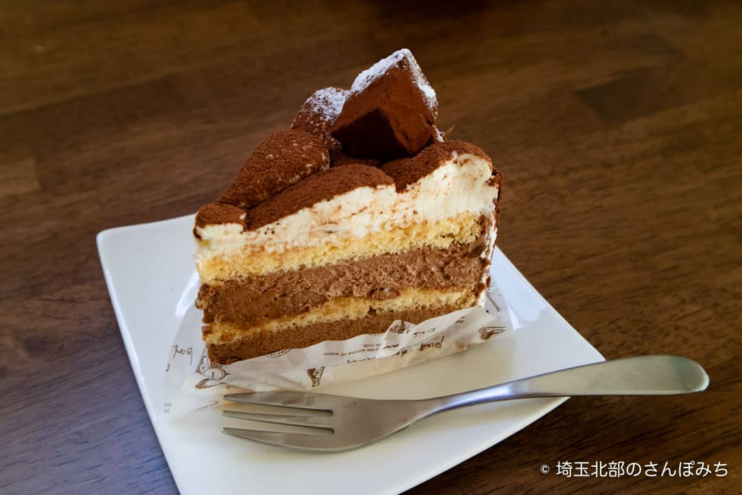 鴻巣ケーキ屋ククのチョコレートケーキ