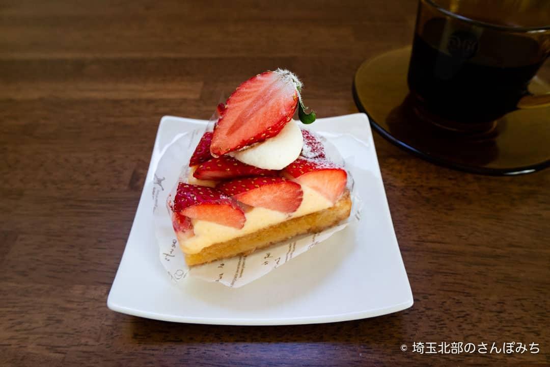 鴻巣ケーキ屋ククのとちおとめ苺のタルト