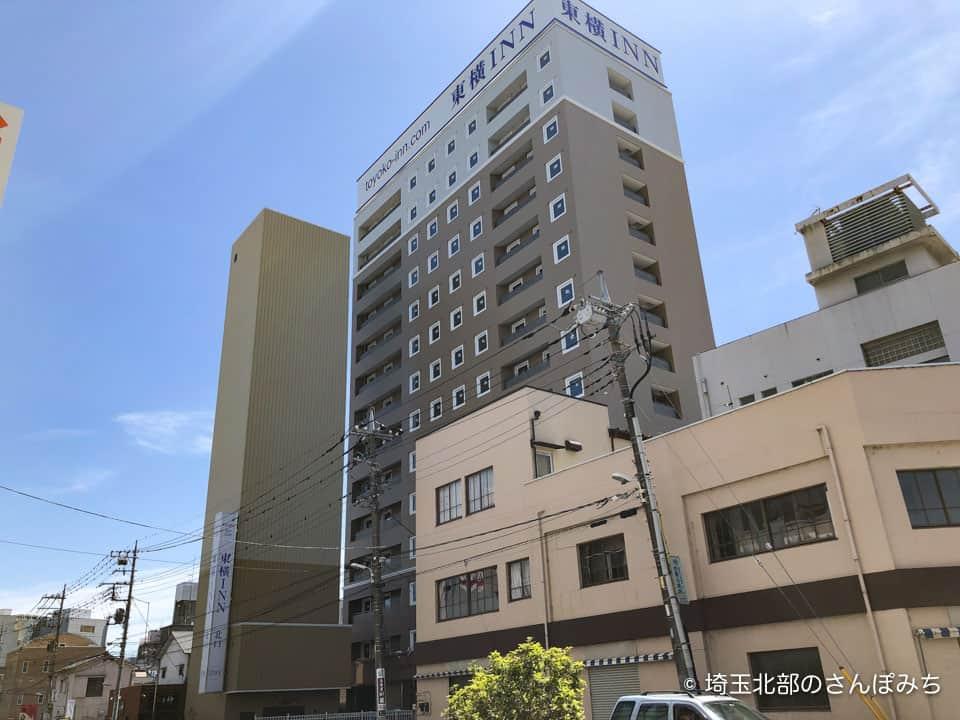 東横イン熊谷駅北口外観