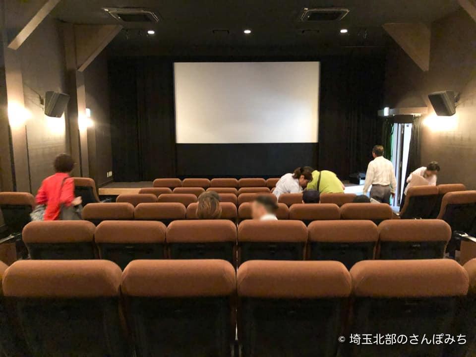 深谷シネマの劇場