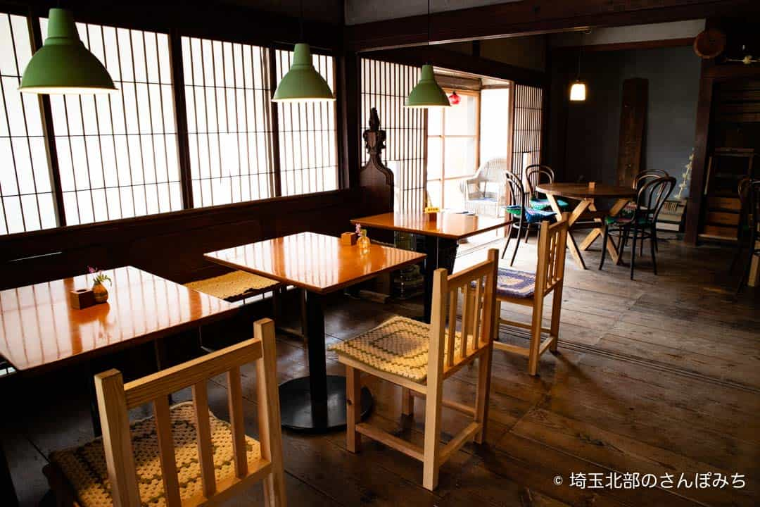 小川町わらしべテーブル席