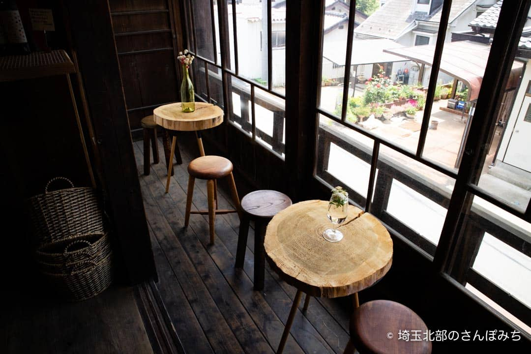 小川町わらしべ武蔵ワイナリー客席