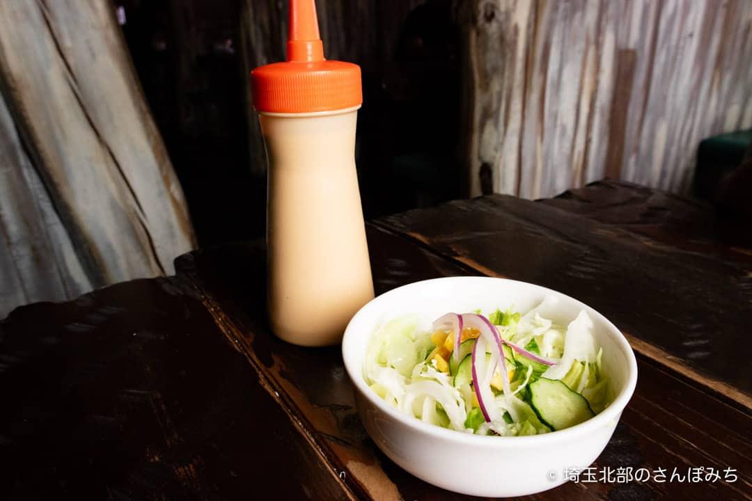 夢街道熊谷店のサラダ