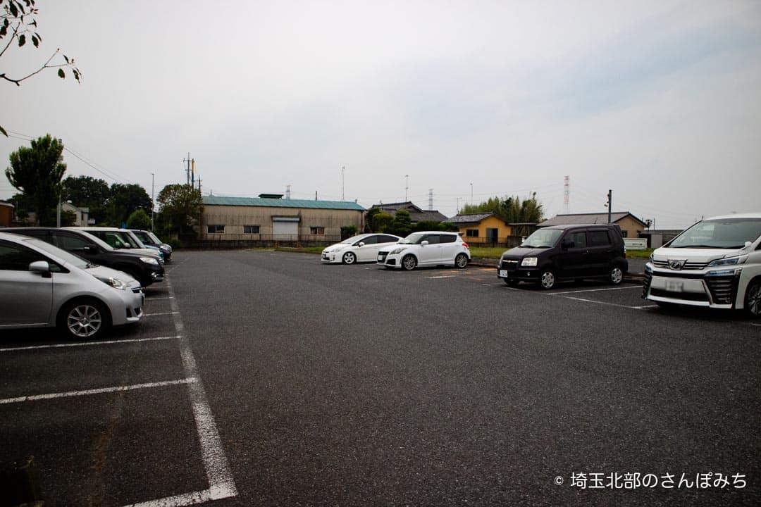 夢街道熊谷店の駐車場