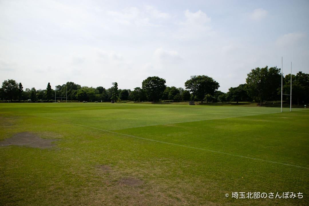 熊谷ラグビー場Cグラウンド全体