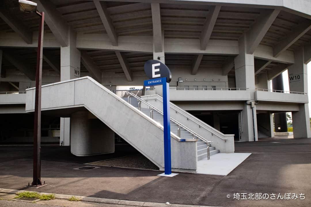 熊谷ラグビー場Eグラウンド入口