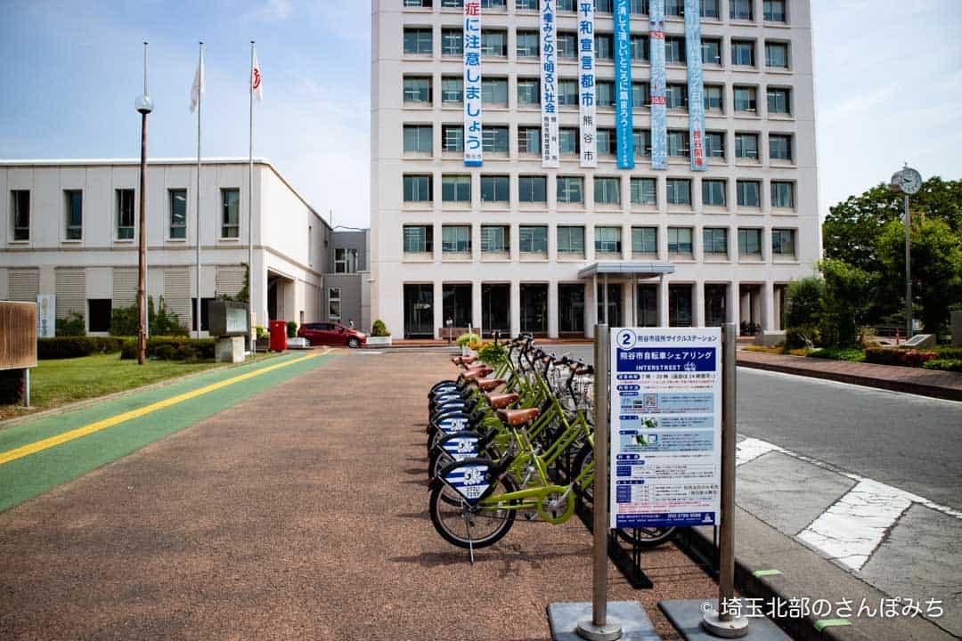 熊谷市自転車シェアリング(熊谷市役所)