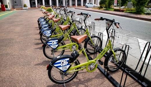 熊谷市自転車シェアリング(レンタサイクル)が運用開始!貸出返却場所・利用方法・料金