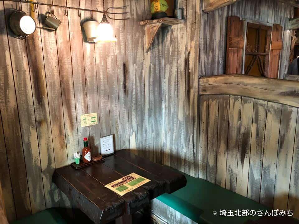 夢街道熊谷店の客席