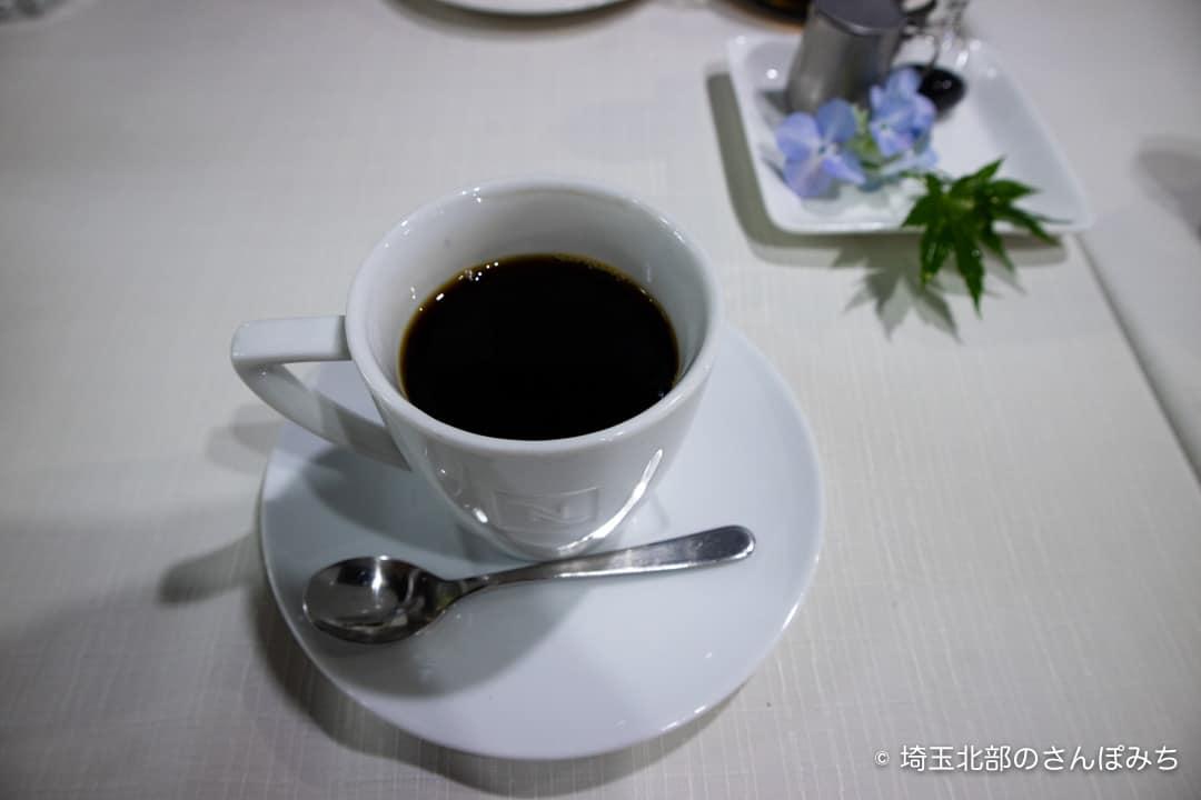 行田カフェ高澤記念館のコーヒー