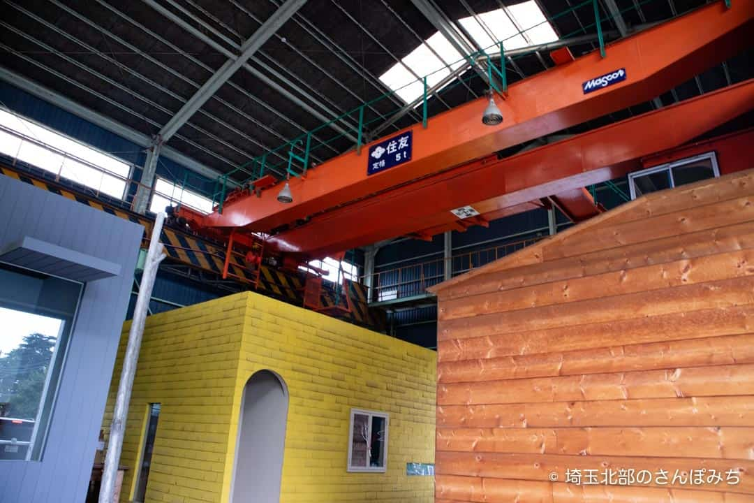 熊谷ニューランドのショップ棟天井