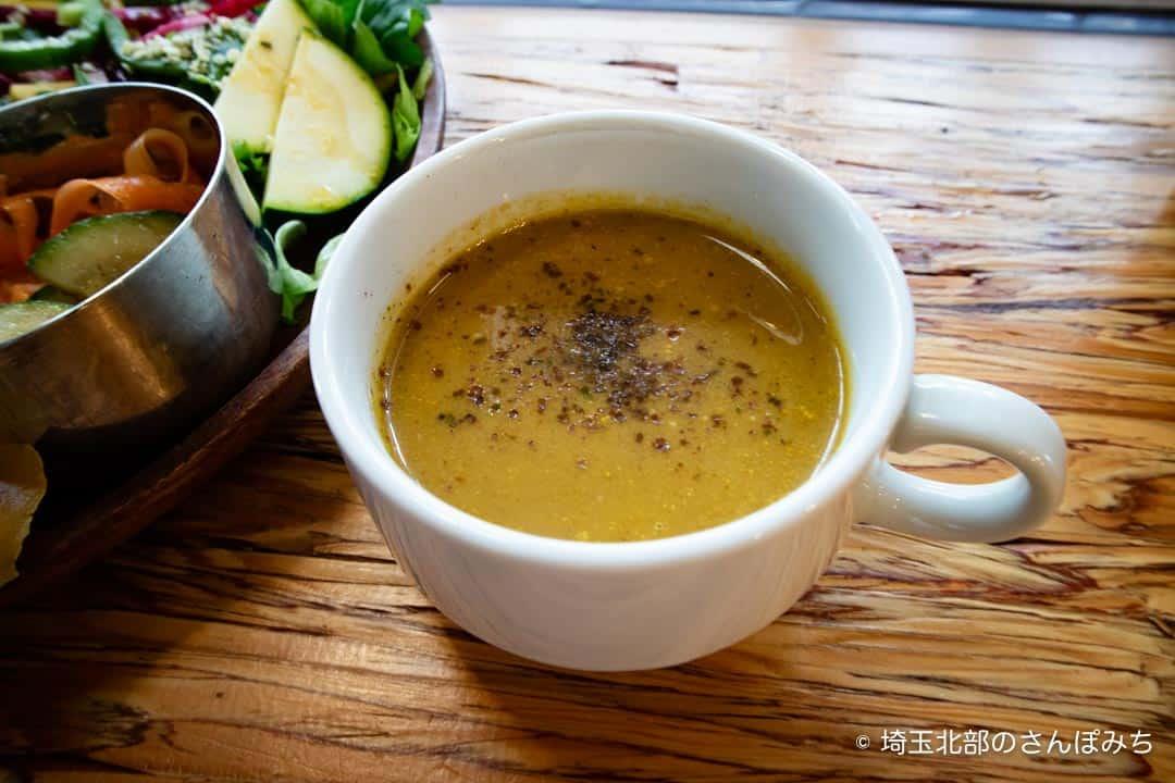 熊谷カフェ・ロースークのスープ