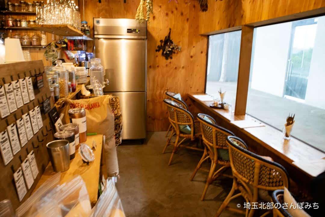 熊谷カフェ・ロースークの店内