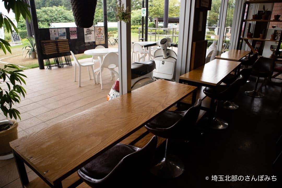つつじが岡公園SUGAR HILL CAFEカウンター席