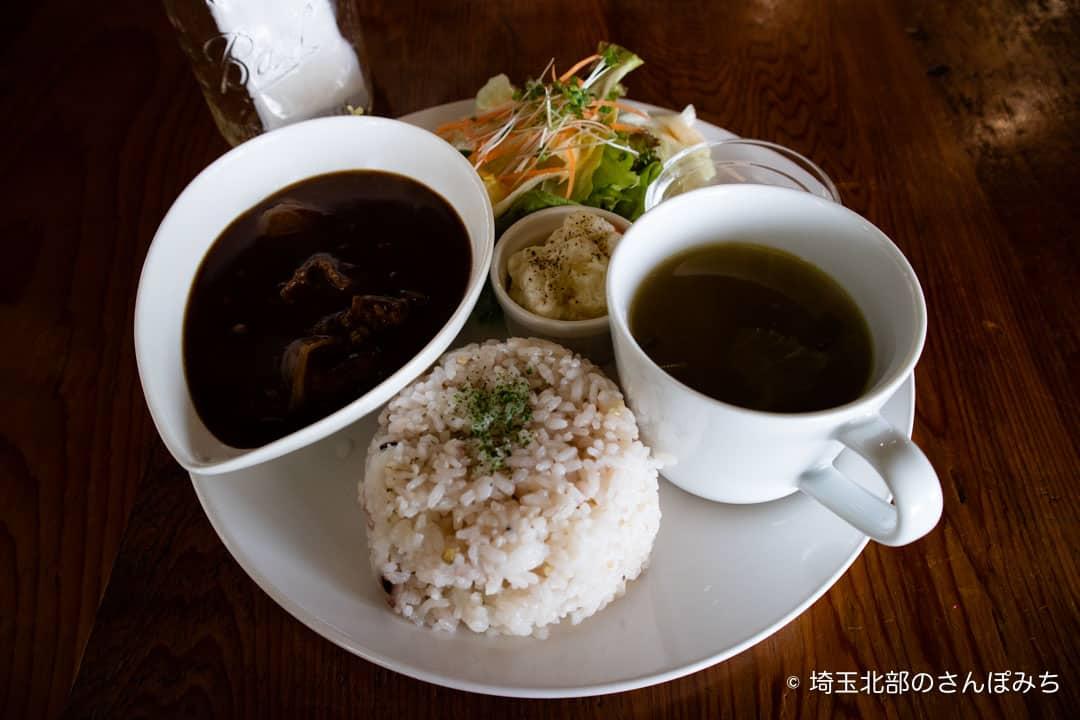 つつじが岡公園SUGAR HILL CAFEのハヤシライス