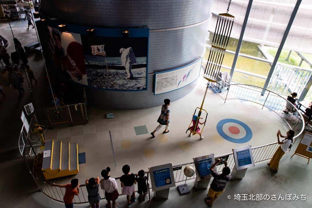 向井千秋記念科学館の2階からの写真
