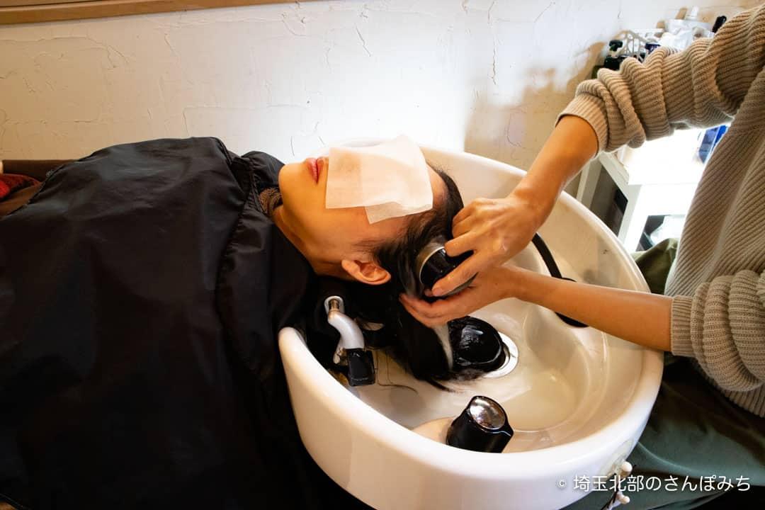 Smart Clothing水洗いしているところ