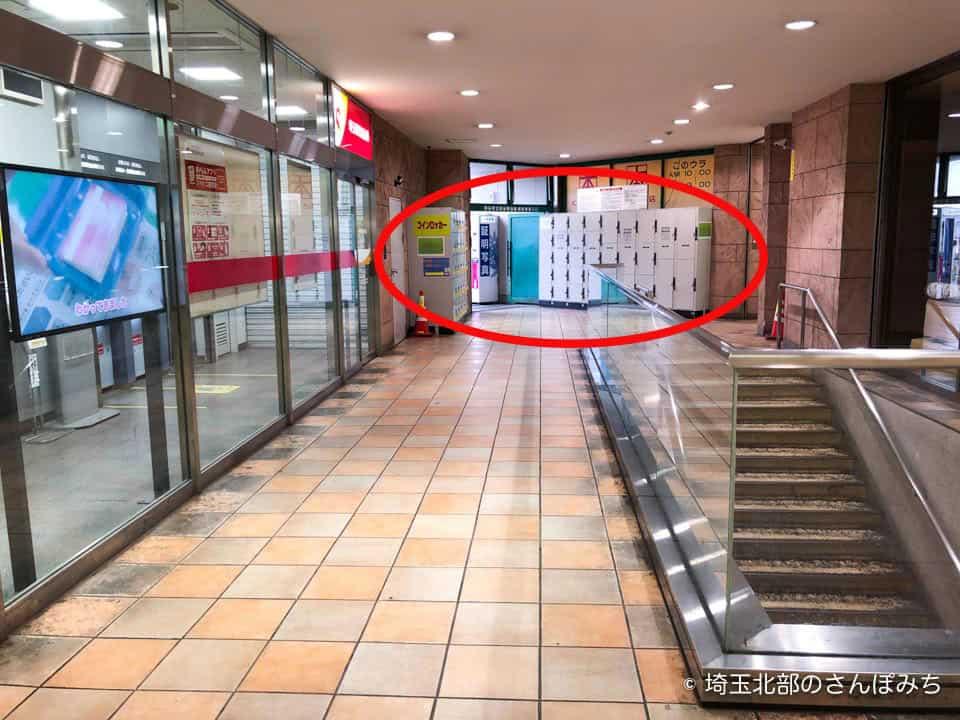 熊谷駅構内さいしん前