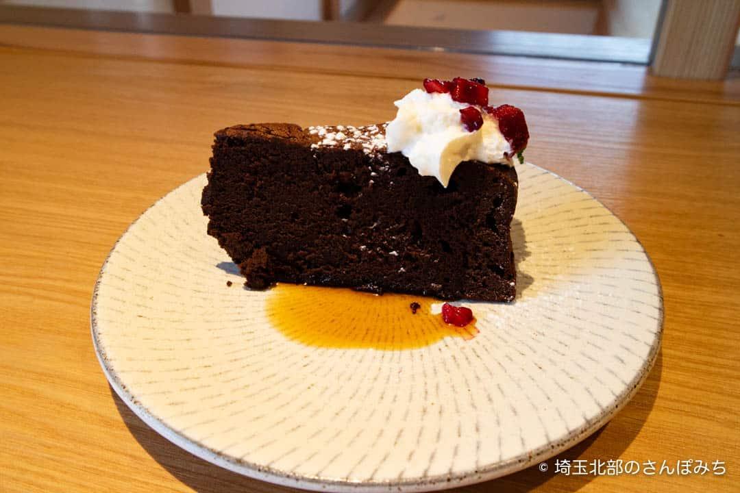 金笛しょうゆパーククラシックチョコレートケーキ