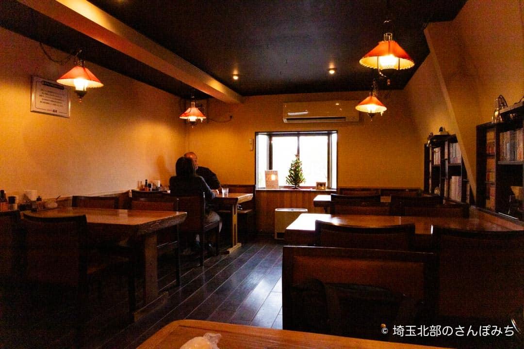熊谷レストラン高原の店内