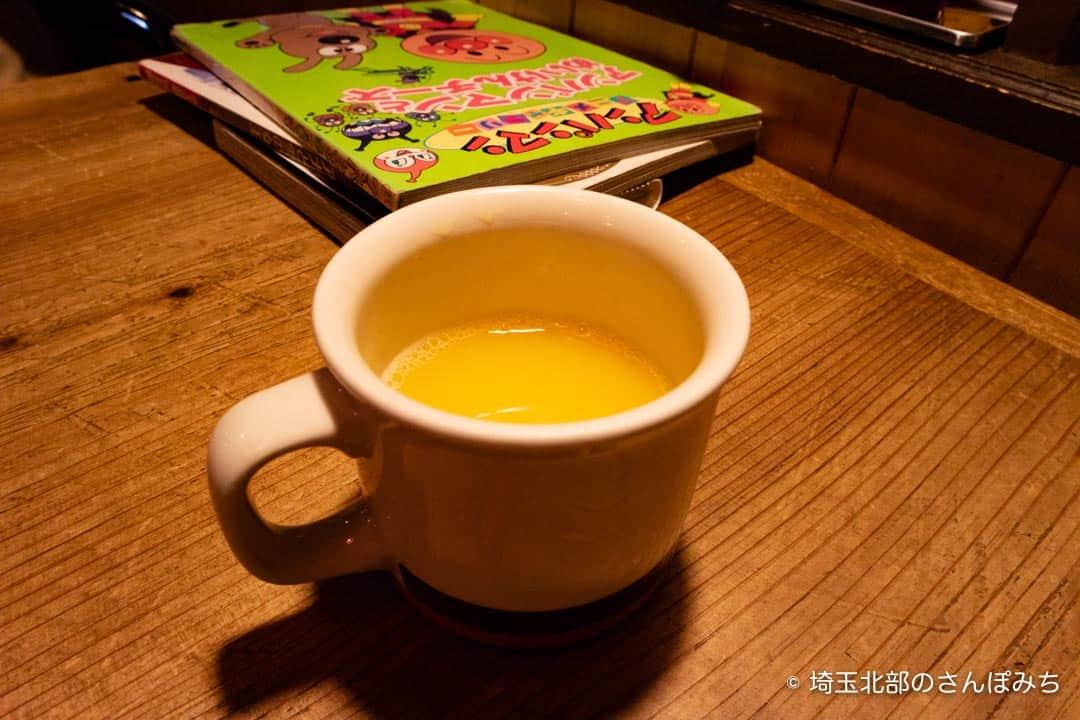熊谷レストラン高原の子ども用ジュース