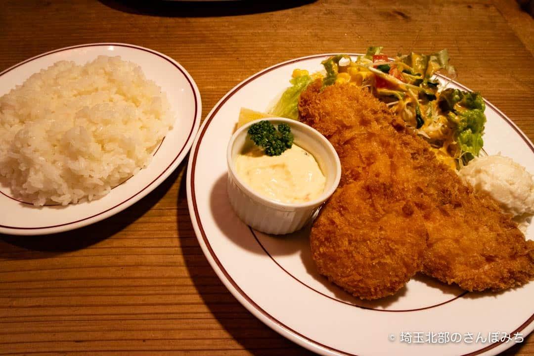 熊谷レストラン高原の日替わりBランチ
