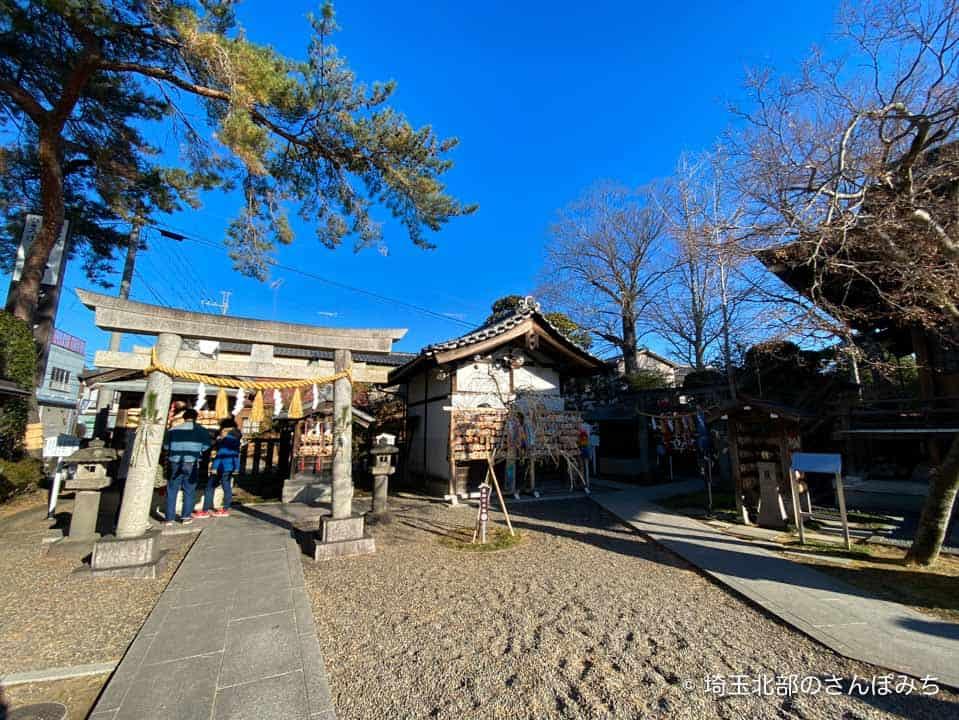 行田八幡神社の境内社