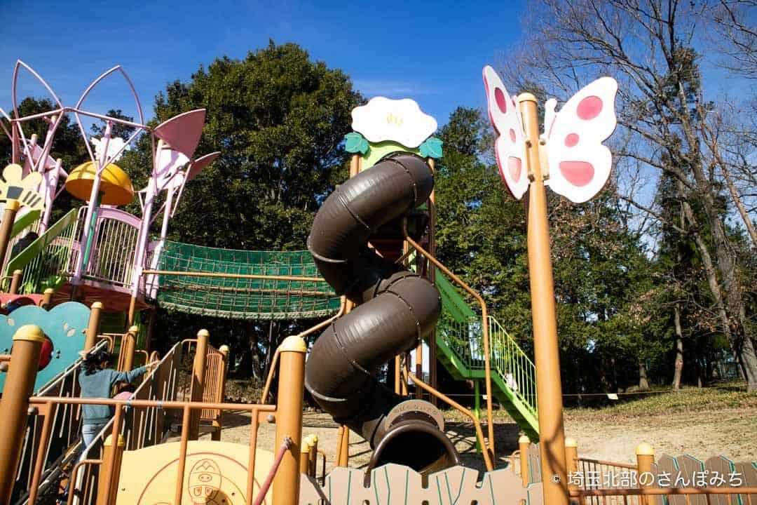 東松山ぼたん園ぐるぐるすべり台