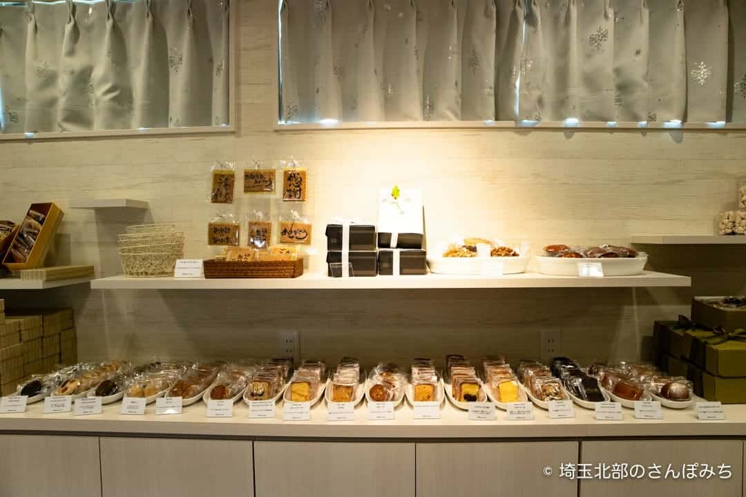 ルコントブルゥ久保島本店の焼き菓子