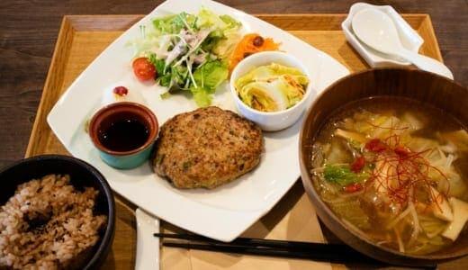 大慶堂ネオガーデンカフェの薬膳スープハンバーグ御膳