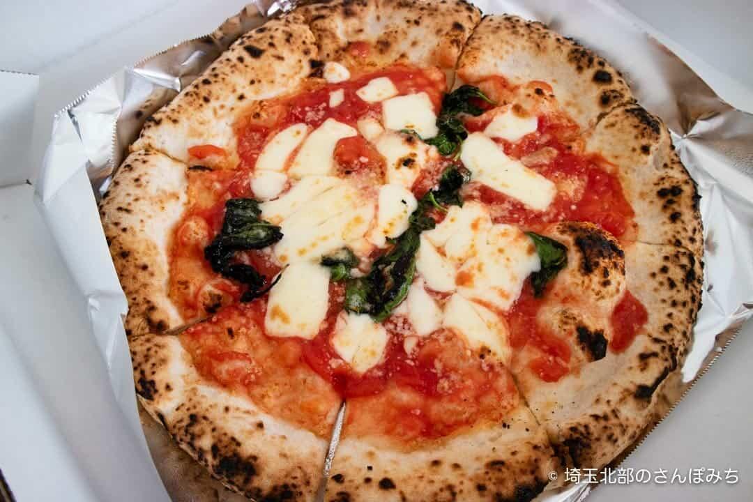 パッツォディピッツァギョウダのマルゲリータピザ