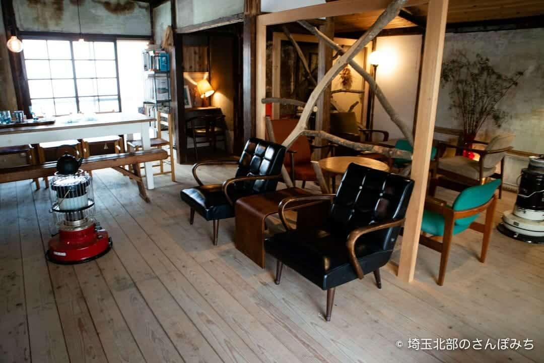 熊谷・ワイズカフェの客席