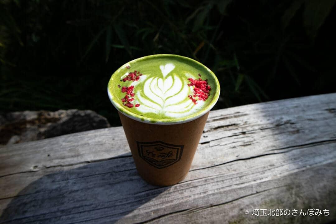 熊谷・ワイズカフェの抹茶ラテ