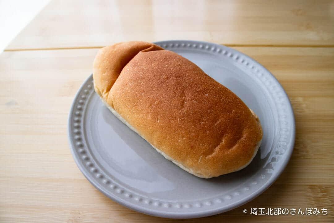 深谷・菊寿堂の酒種コッペの大きさ