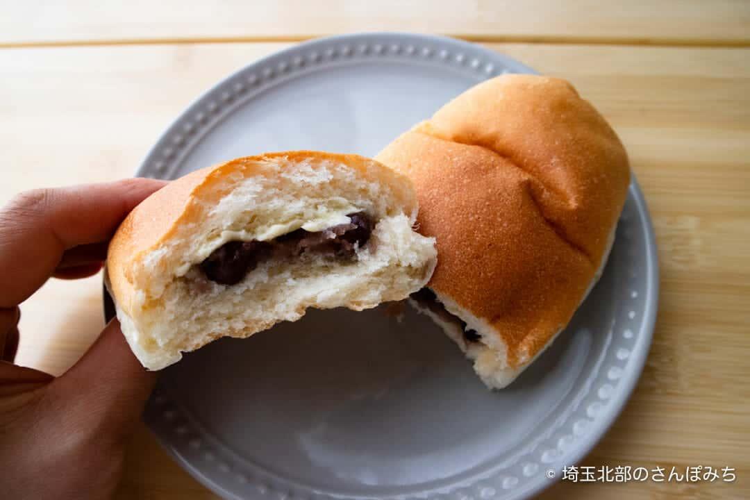 深谷・菊寿堂の酒種コッペあんバタ