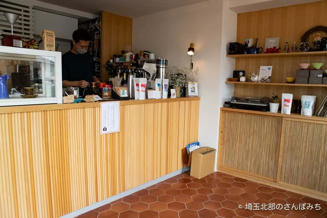 熊谷カフェ・コンサイエンスの店内