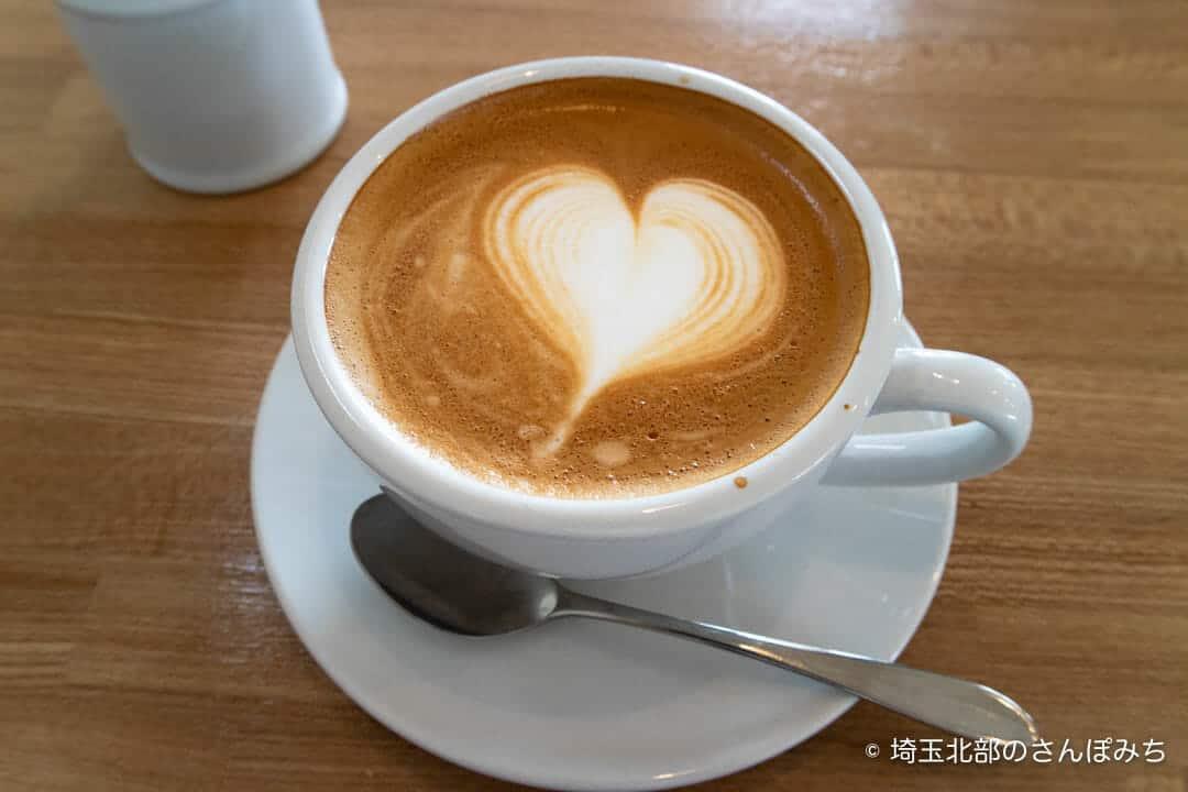 吉見・ハッピータイムのカフェラテ