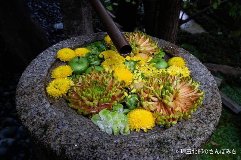 行田八幡神社の花手水7月-2
