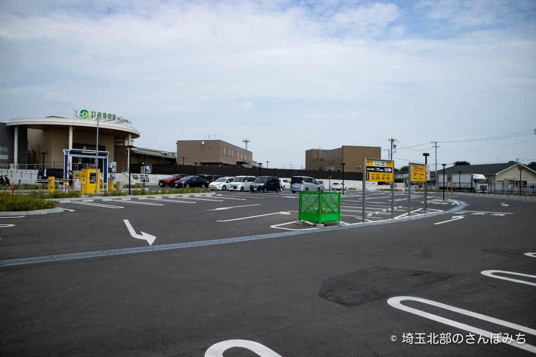蓮田SA(上り)一般道の専用駐車場