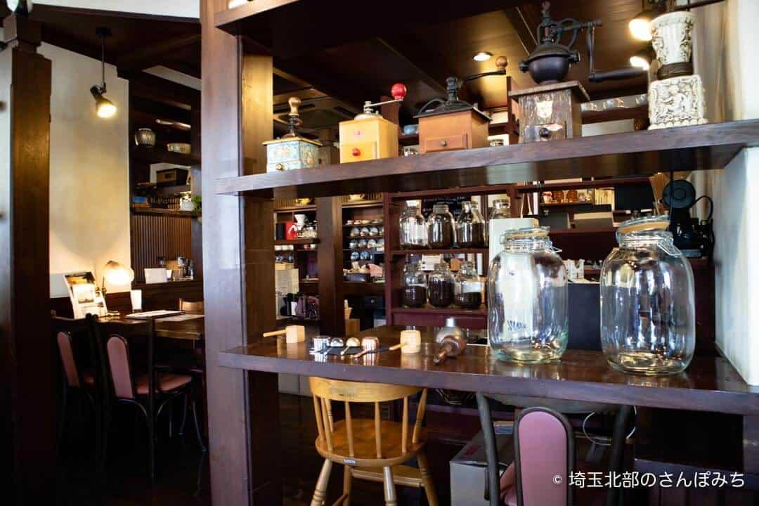 本庄・珈琲工房黒柳(クロヤナギ)のコーヒー器具
