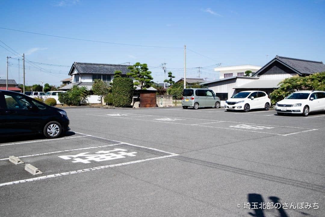 羽生PA上り鬼平江戸処の一般道駐車場