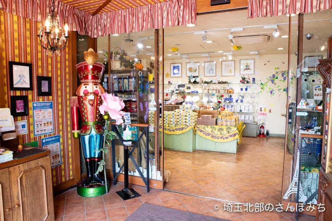 寄居PA(上り)売店の入口