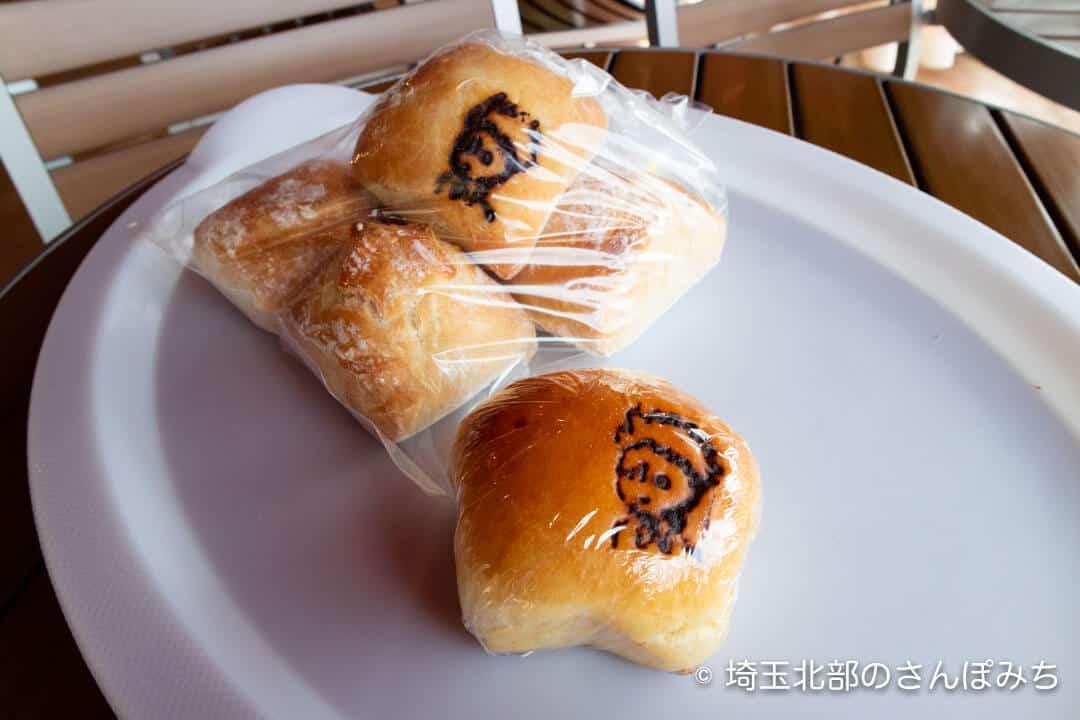 寄居PA(上り)プチフランスとクリームパン