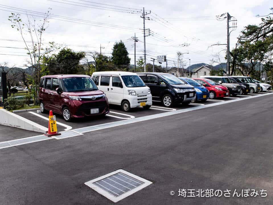 飯能・発酵のOH!!!駐車場